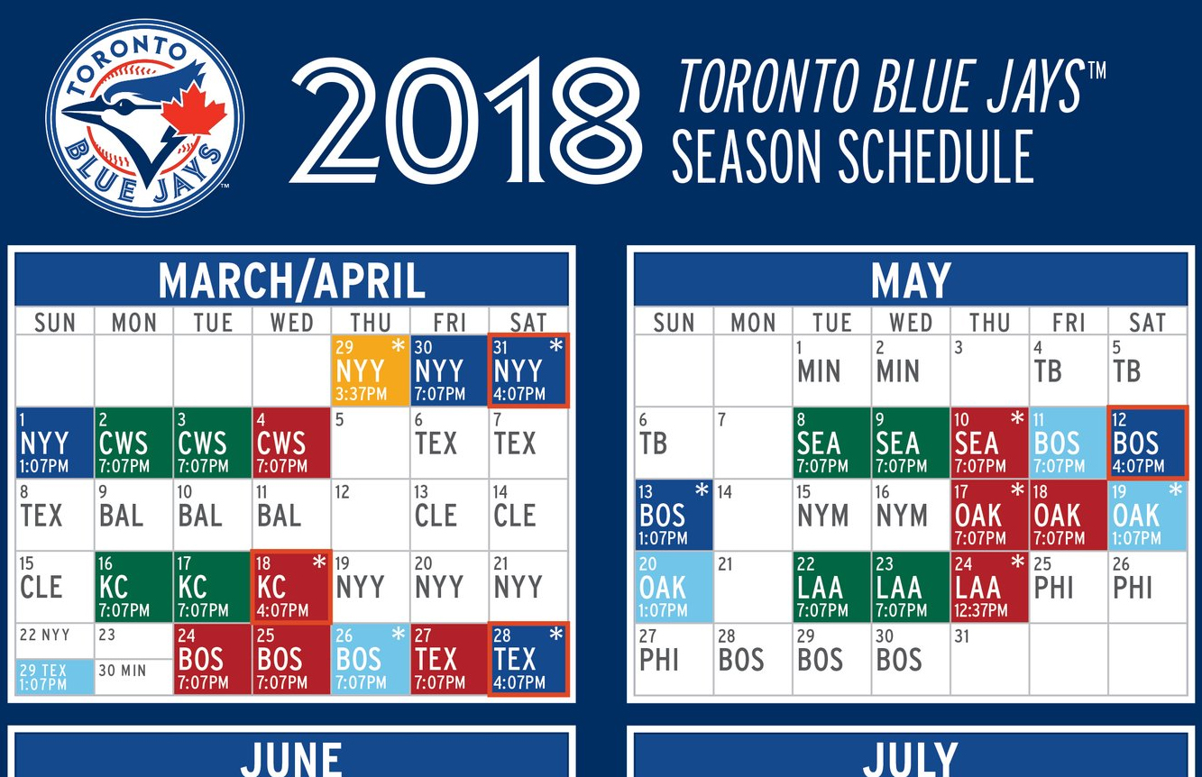 Tampa Bay Rays, Toronto Blue Jays to play first of 10 ...