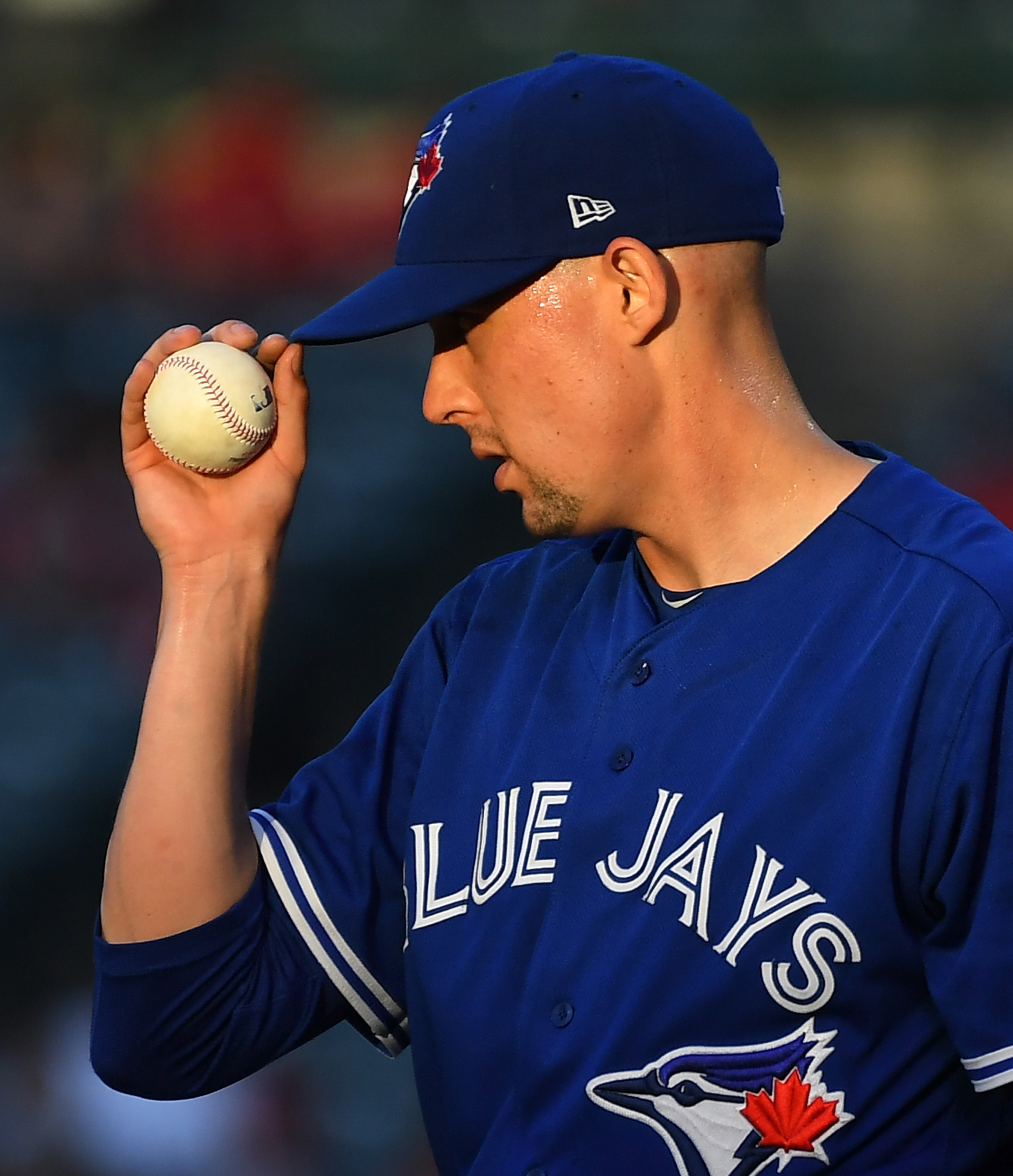 Aaron Sanchez To The DL With Finger Contusion